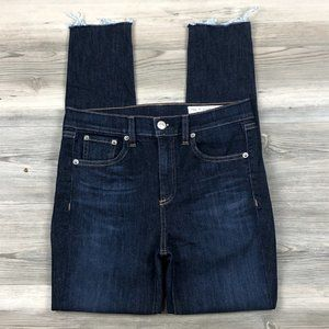 Rag & Bone High Waist Skinny Ankle Jeans sz 27